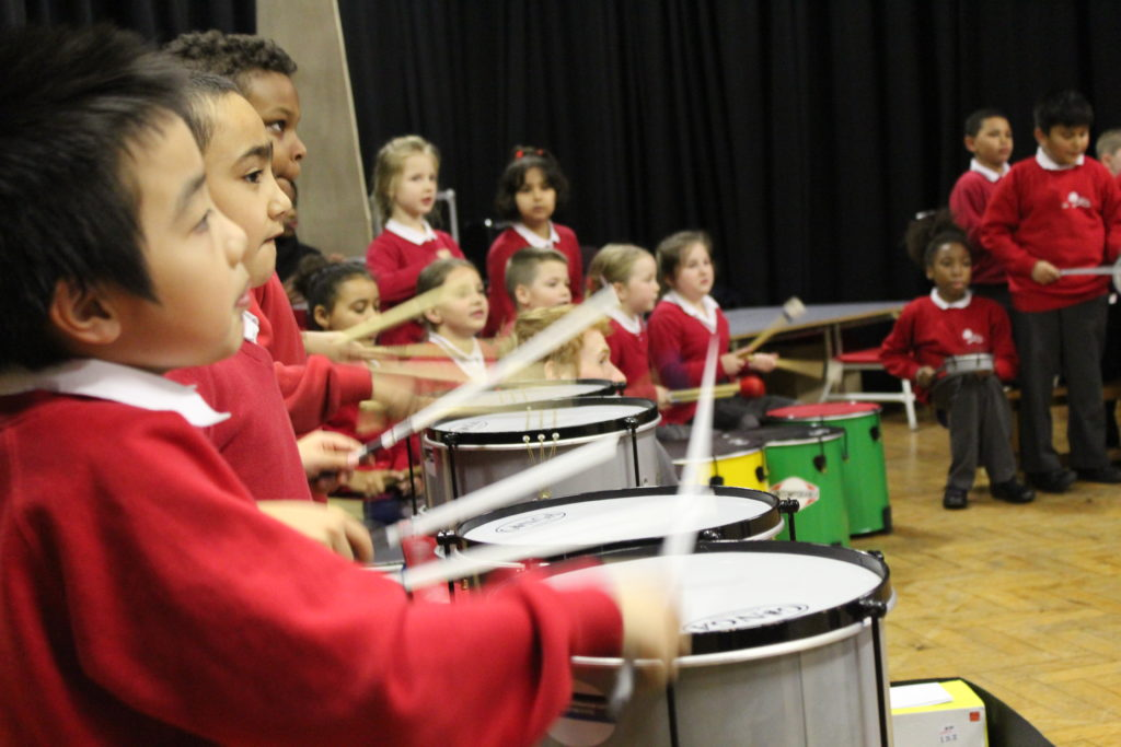 BBC Ten Pieces workshops with Beat Goes On